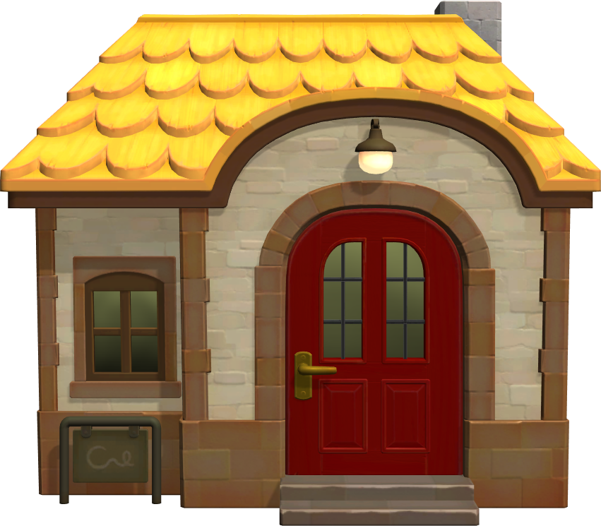 Exterior of Mira's house in Animal Crossing: New Horizons