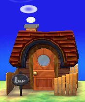 Exterior of Bill's house in Animal Crossing: New Leaf