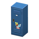 Upright Locker (Blue - Pop) NH Icon.png