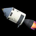 Crewed Spaceship