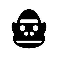 GorillaSpeciesIconSilhouette.png