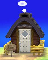 Exterior of Antonio's house in Animal Crossing: New Leaf