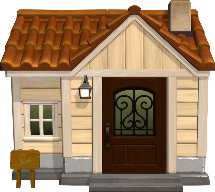 Exterior of Blaire's house in Animal Crossing: New Horizons