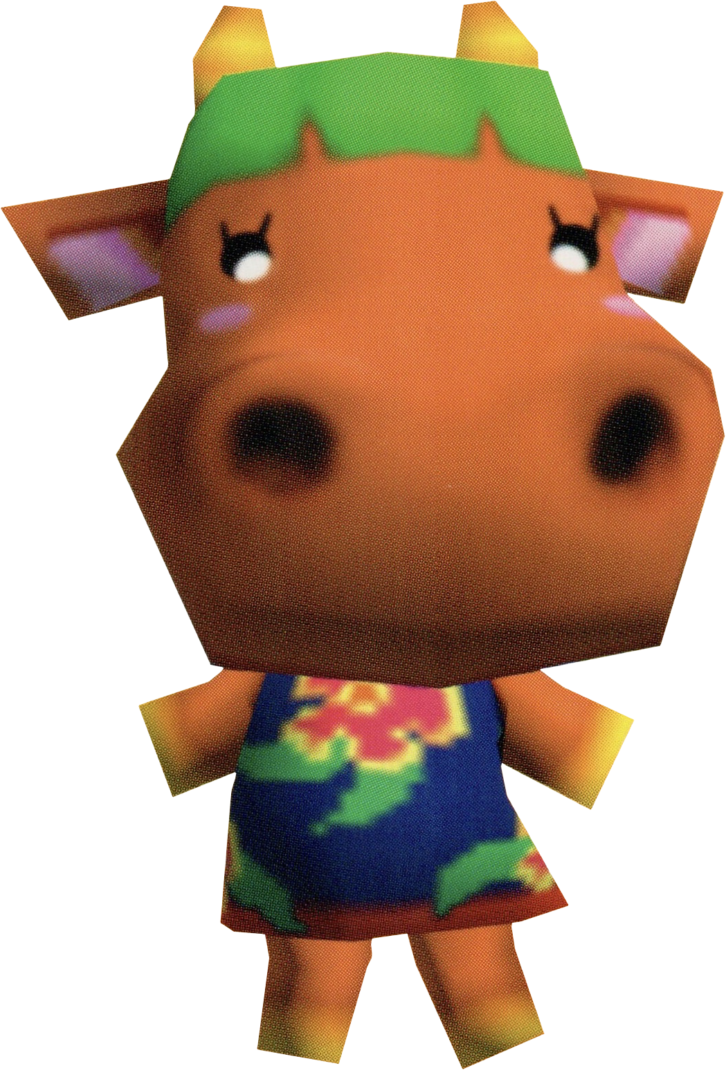 Artwork of Carrot the Cow