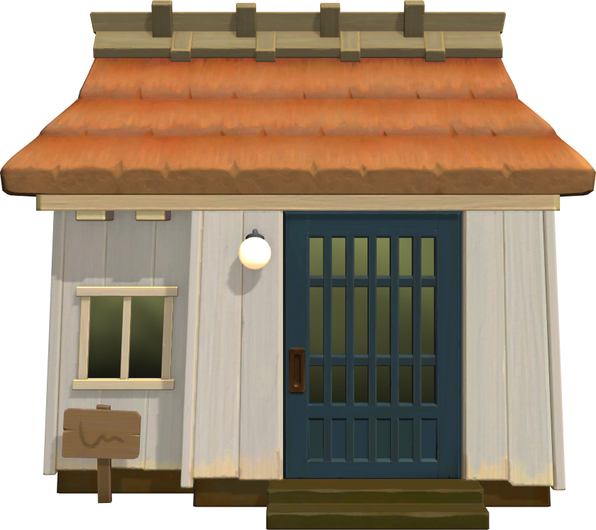 Exterior of Blanche's house in Animal Crossing: New Horizons