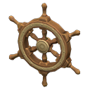 Ship-Wheel Door Decoration