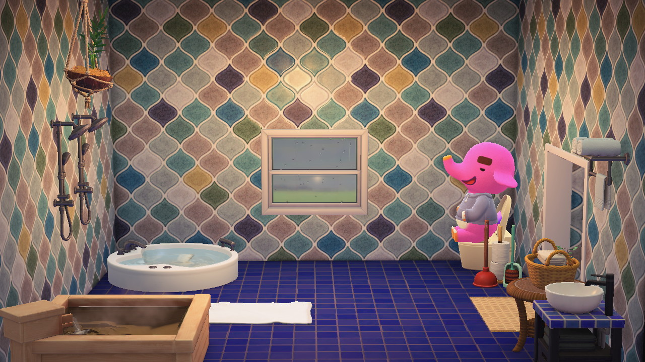 Interior of Paolo's house in Animal Crossing: New Horizons
