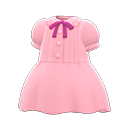 Pintuck-Pleated Dress
