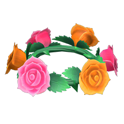 Cute Rose Crown New Horizons Animal Crossing Wiki Nookipedia
