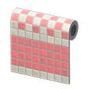 Peach Two-Toned Tile Wall NH Icon.png