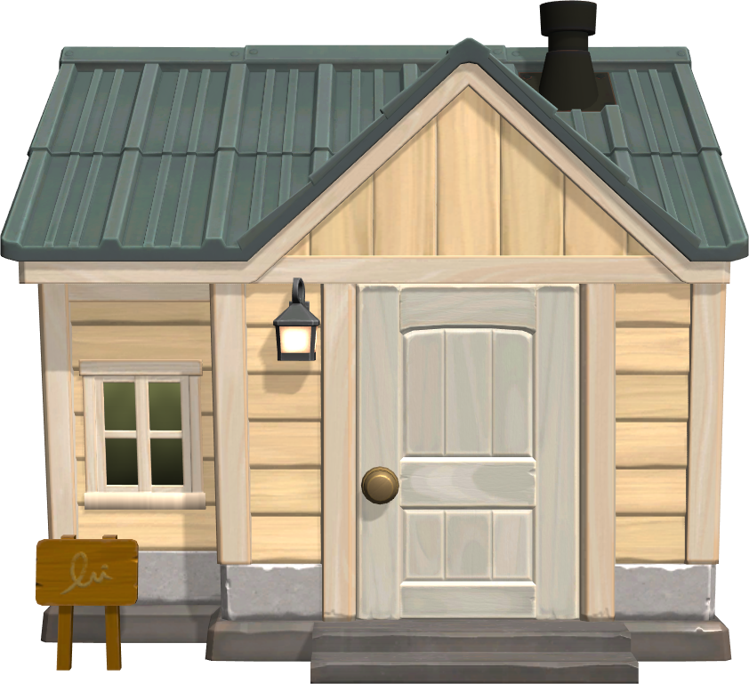 Exterior of Punchy's house in Animal Crossing: New Horizons