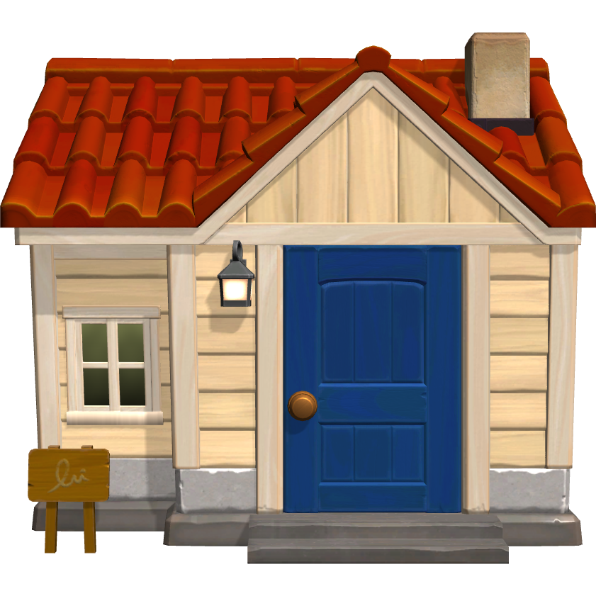 Exterior of Rilla's house in Animal Crossing: New Horizons