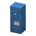 Upright Locker (Blue - Cool) NH Icon.png