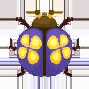 Navy Flower Ladybug PC Icon.png