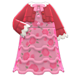 Frilly Dress New Horizons Animal Crossing Wiki Nookipedia