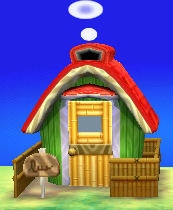 Exterior of Toby's house in Animal Crossing: New Leaf