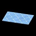 Blue Kitchen Mat