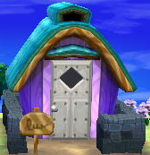 Exterior of Shep's house in Animal Crossing: New Leaf