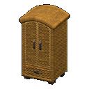 Rattan Wardrobe (New Horizons) - Animal Crossing Wiki ...