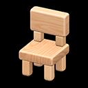 Wooden-Block Chair