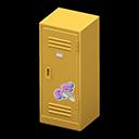 Upright Locker (Yellow - Cute) NH Icon.png