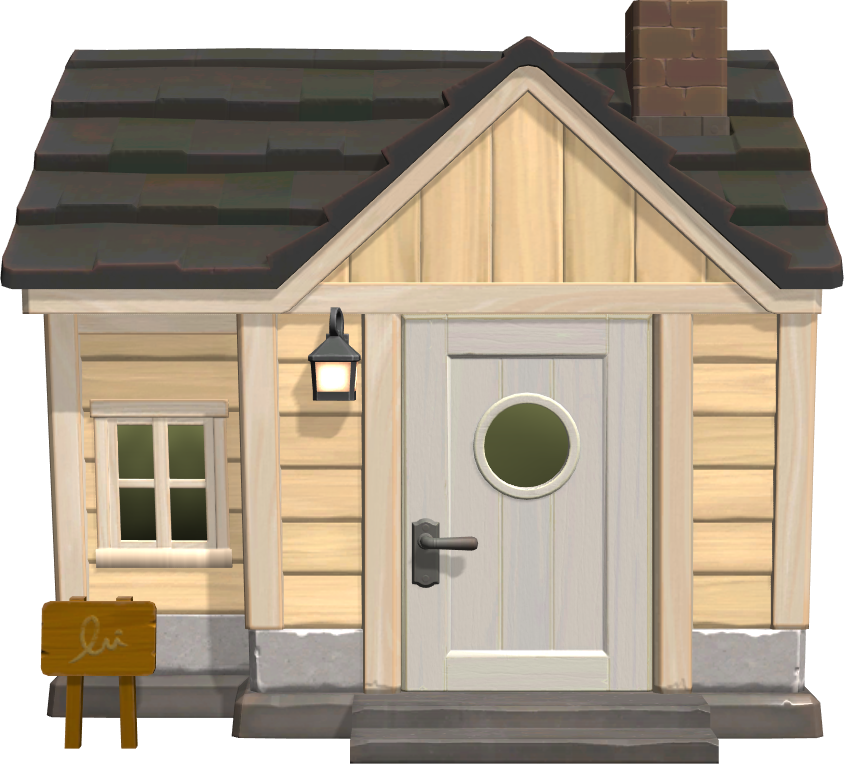 Exterior of Aurora's house in Animal Crossing: New Horizons