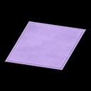 Simple Small Purple Mat