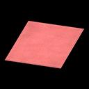 Simple Medium Red Mat