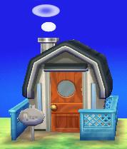 Dizzy's house exterior