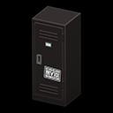 Upright Locker (Black - Cool) NH Icon.png