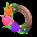 Pretty Tulip Wreath