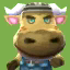 Vic's picture in Animal Crossing: New Leaf