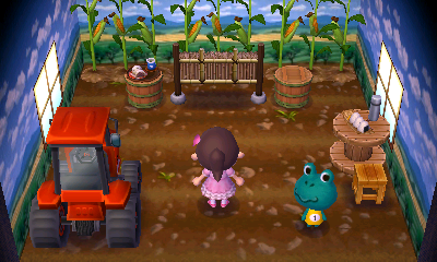 Interior of Tad's house in Animal Crossing: New Leaf