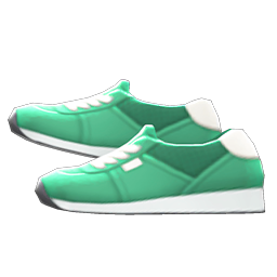Faux-Suede Sneakers