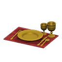 Golden Dishes
