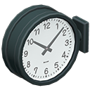 Double-Sided Wall Clock