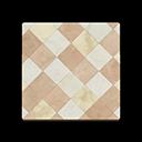 Brown Argyle-Tile Flooring