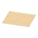 Ivory Simple Bath Mat