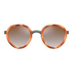 Round Tinted Shades (Light Brown) NH Icon.png