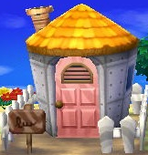 Exterior of Marina's house in Animal Crossing: New Leaf