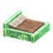 Frozen Bed (Ice Green - Brown) NH Icon.png