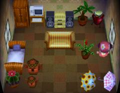 Maddie's house interior