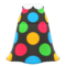 Marble-Dots Dress (Black) NH Icon.png
