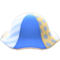 Patchwork Tulip Hat (Blue) NH Icon.png