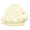 Pom-Pom Sweater (White) NH Icon.png