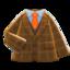 Tweed Jacket (Brown) NH Icon.png