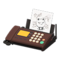 Fax Machine (Brown - Illustration) NH Icon.png