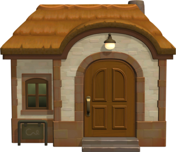 Exterior of Bea's house in Animal Crossing: New Horizons
