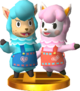 Reese & Cyrus SSB4 Trophy (3DS).png