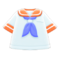Sailor's Tee (Orange) NH Icon.png